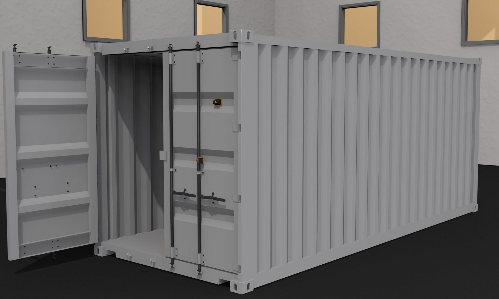 Development of Mounting Solution for Sensor on Offshore Container Modules